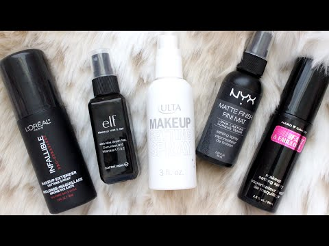 Frugal Fridayz | Battle of Drugstore Makeup Setting Sprays