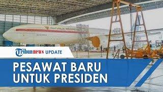 Viral Foto Digadang-gadang Pesawat Baru Kepresidenan, Ini Klarifikasi Pihak Istana