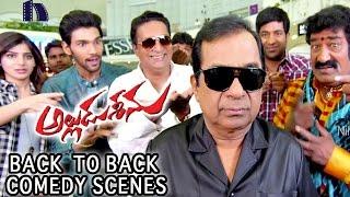 Alludu Seenu Back To Back Comedy Scenes    Bramanandam, Samantha, Venela Kishore,