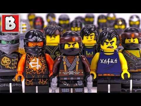Every LEGO Cole Minifigure EVER MADE!!!   Ninjago 2018 Collection Update