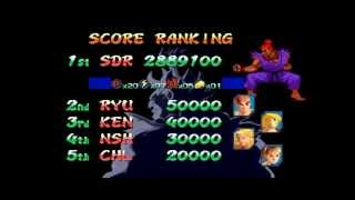 Street Fighter Zero 2 Alpha ~ Shin Gouki 【TAS】