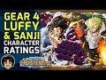 Unit Ratings & Reviews - Gear 4 Luffy & Black Leg Sanji [One Piece Treasure Cruise]