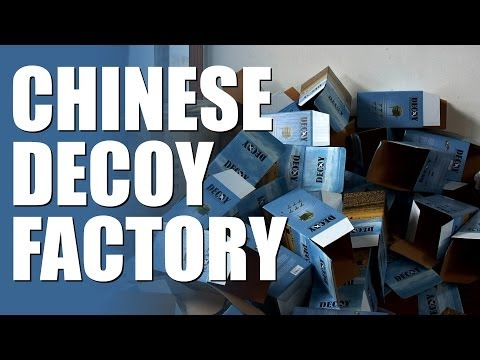 Made in China – Pigeon Decoys