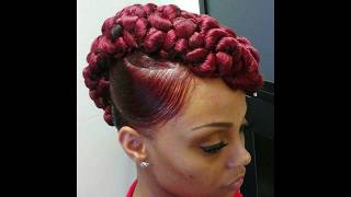 Top 20 Mohawk Hairstyles For Black Women!!!! #AMustSee#CarmenBlake#pleasesubscribe