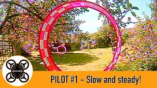 Game of Drones - Pilot #1 Slow and steady FPV drone flying