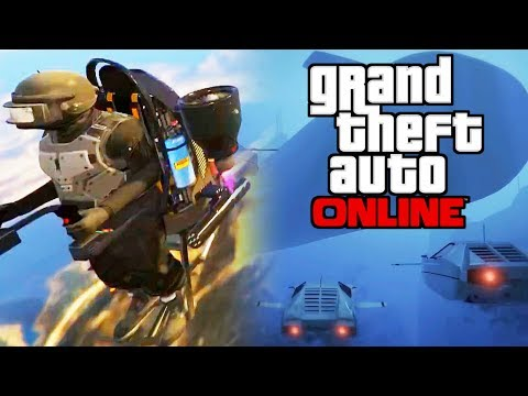 JETPACKS AND SUBMARINE CARS IN GTA ONLINE!