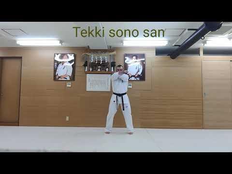 Tekki sono san kyokushin
