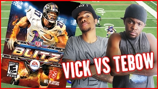 WHO'S BETTER? MICHAEL VICK OR TIM TEBOW?? - Blitz Arcade Gameplay | #ThrowbackThursday