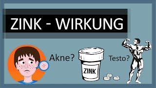 Wofür ist Zink gut? – Zink Wirkung: Muskelaufbau – Zink gegen Akne & Pickel – Studien zu Zink