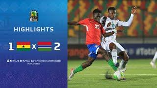 CAN U20 2021 | Groupe C : Ghana 1-2 Gambie