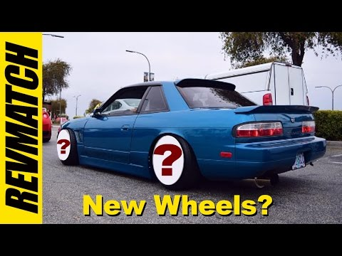 Nissan 240SX - New wheels for my coupe