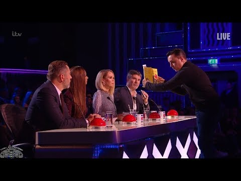 Britain's Got Talent 2018 Live Semi-Finals Marc Spelmann Full S12E12 (видео)