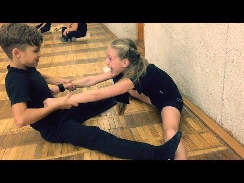 Fantastic Stretching // Растяжка на разрыв с хрустом