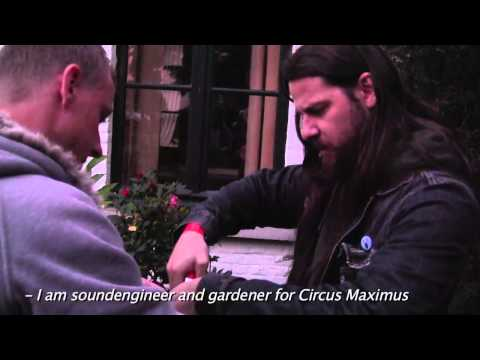Circus Maximus Tour Diary - ProgPower Europe 2012
