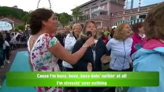 Allsång: Ace Wilder och Lotta Engberg - Busy doin' nothin' - Lotta på Liseberg (TV4)