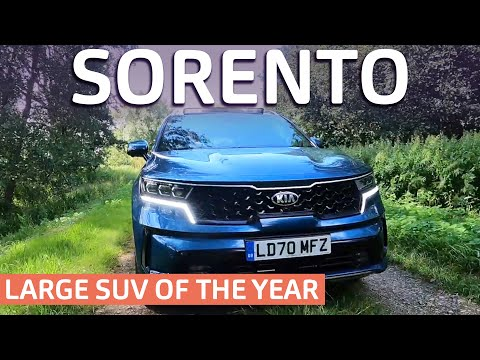 Kia Sorento Review 2021 Real World Verdict. Large SUV Award Winner Tested.