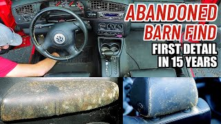 Cleaning The Dirtiest Car Interior Ever! Complete Disaster Full Interior Car Detailing Series Ep. 6