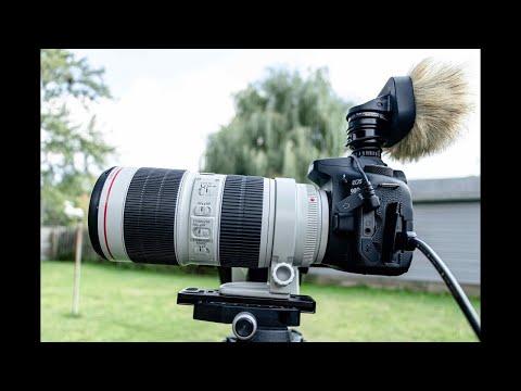 New Canon 4k 90D Camera & F/2.8L 70-200mm IS III USM Lens