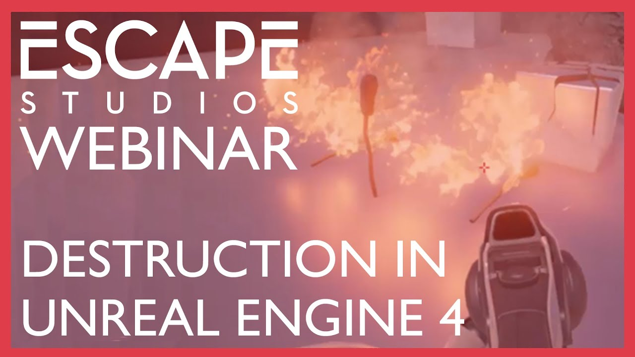 Introduction to Destruction with Simon Fenton - Escape Studios Webinar