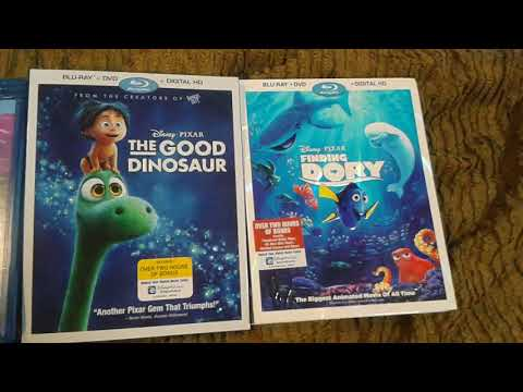 My WDHE Blu-ray Collection Part 2 - Disney/Pixar Films