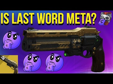 Is Last Word Meta Now? (Update 2.5.0.1) Destiny 2 Season Of Opulence