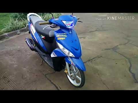 Modifikasi Motor Mio Gt Babylook Blog Motor Keren
