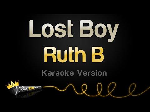 Ruth B - Lost Boy (Karaoke Version)
