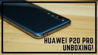 Huawei P20 Pro Unboxing!