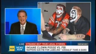 Jeff Gold HLN legal roundup- Insane Clown Posse, CO pot, and MKLetourneau