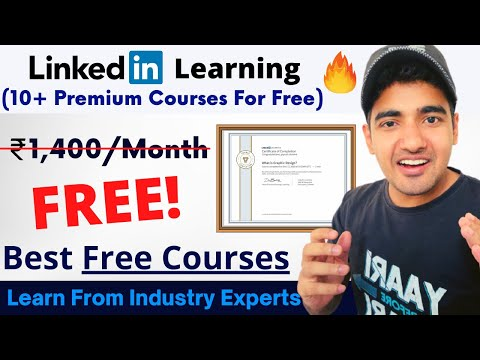 Linkedin Learning Free Courses With Certificate | No Subscription ...