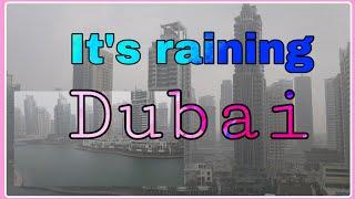 It's raining in Dubai mga kalaure winter soon