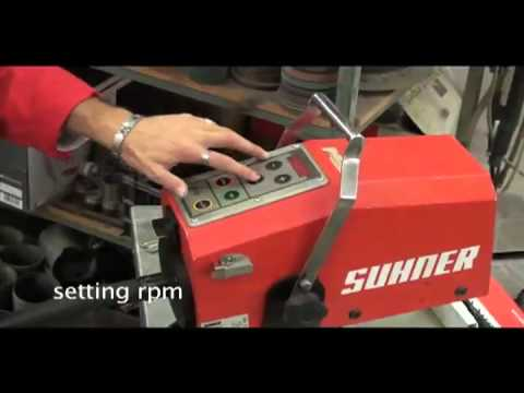 Suhner Rotomax: For all kinds of surface finish