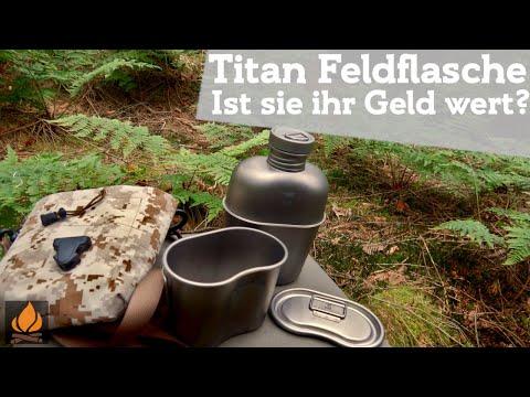 Keith Titan Feldflasche - Ist sie ihr Geld wert | Bushcraft Outdoor Ausrüstung ohne Plastik