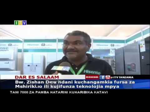 Buildexpo Tanzania 2019 - Media coverage on national channel ITV