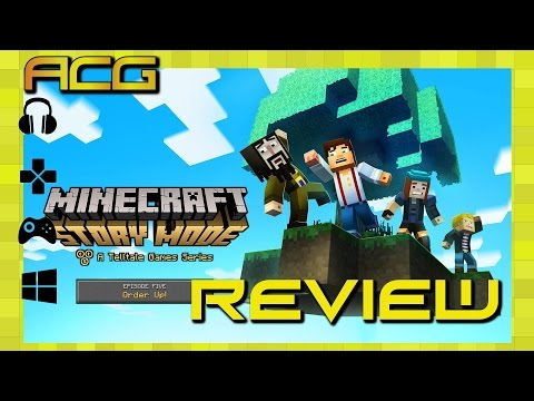 Minecraft Story Mode Episode 5 Review - YouTube video thumbnail