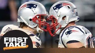First Take reacts to Tom Brady, Rob Gronkowski not attending offseason workouts | First Take | ESPN
