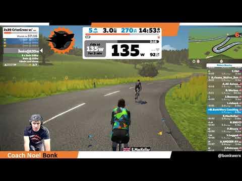 Zwift Live - BonkWerx Endurance Sports Coaching and Pro Bike Fitting
