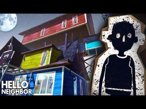 УЖАСЫ в ДОМЕ ПРИВЕТ СОСЕД! Секреты безумного соседа в мультяшной хоррор игре Hello Neighbor видео