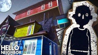 УЖАСЫ в ДОМЕ ПРИВЕТ СОСЕД! Секреты безумного соседа в мультяшной хоррор игре Hello Neighbor