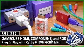 RGB316 :: GameCube HDMI, Component & RGB - Plug 'n Play w/ Carby & GCHD Mk-II