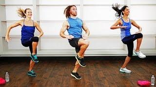 30-Minute No-Equipment Bodyweight Bootcamp Workout   Class FitSugar