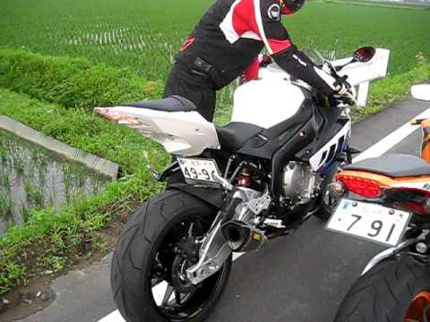 BMW S1000RR(AKRAPOVIC) e HONDA CBR 1000RR REPSOL(YOSHIMURA) sound