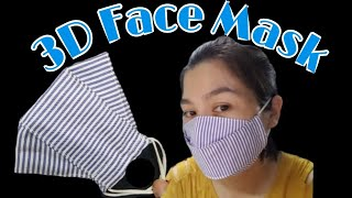 How to sew a simple 3D mask
