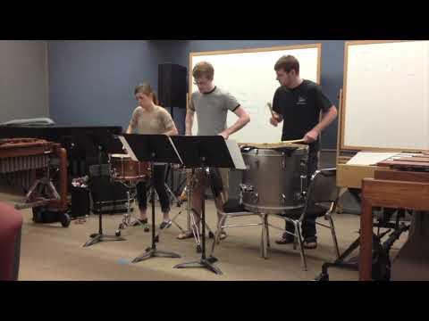 Crazy Army Trio arrangement