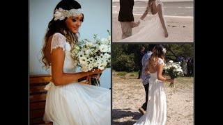 Beach Wedding Dresses Pictures