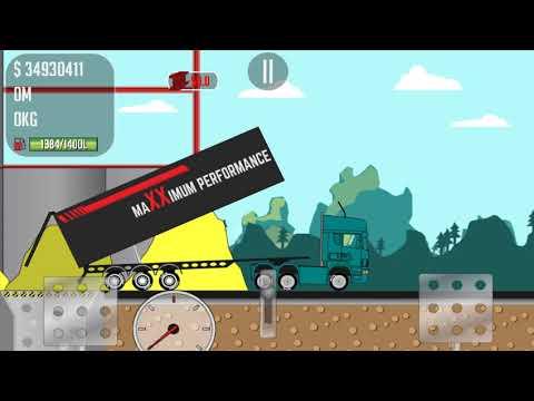 Trucker Joe is transporting bricks and steel for construction