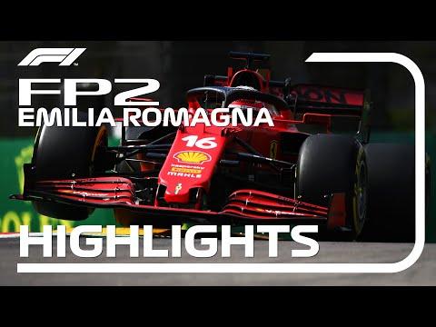 F1第2戦エミリア・ロマーニャGP(イモラ)フリープラクティス2のハイライト動画