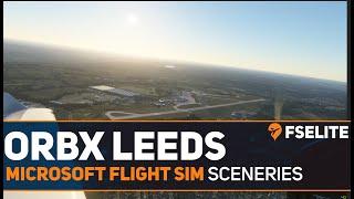 Exclusive: Orbx EGNM Leeds Bradford Airport for Microsoft Flight Simulator