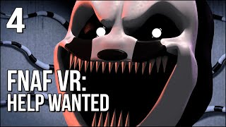 FNAF VR | Part 4 | This Nightmare Puppet Will Haunt Me!