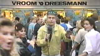 André van Duin in de commercial Wilde Winkel Weken van Vroom & Dreesman